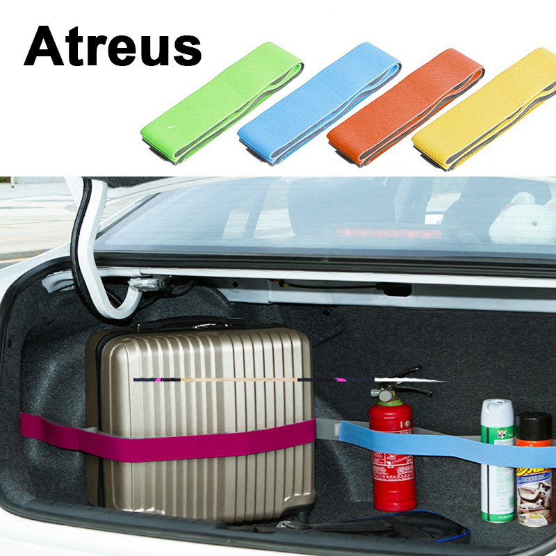 Atreus 1X Car Trunk Storage Tanti-skid Crash fixed strap For Toyota Corolla Avensis Rav4 c-hr Seat leon ibiza Mini Cooper COVER