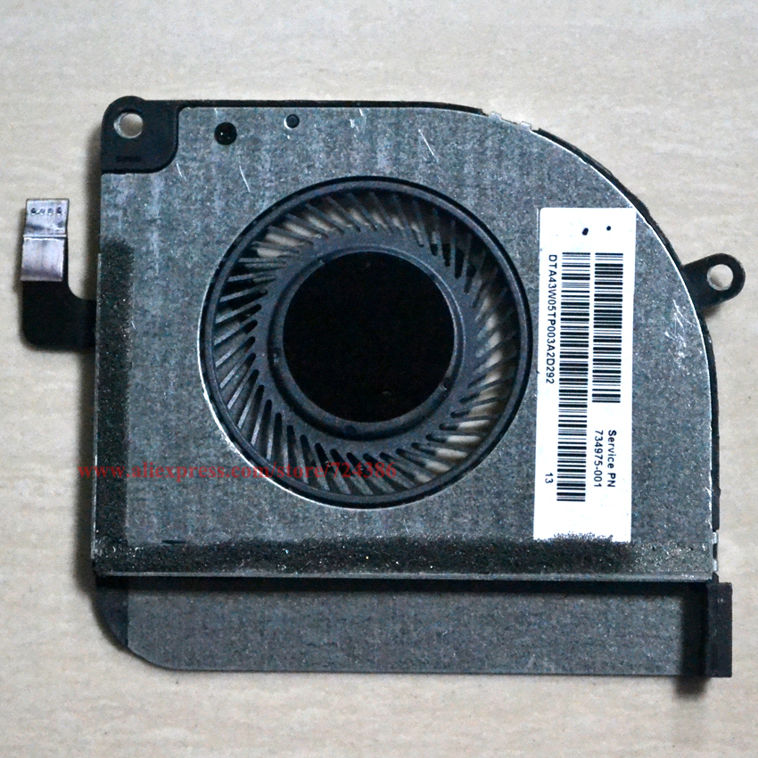 New 13-M010DX Laptop Cpu Fan for HP Split 13 x2 moo3tu cooling fan 13-m001tu m002tu m105tu fan13-M000 M100 cooler 734975-001 радиатор 150у 13 010 3 в новосибирске