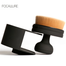 FOCALLURE New Arrival Foundation Brush Useful Design Makeup Brushes High Quality Round Make Up Brushes For Liquid Cosmetic