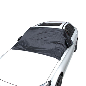 Image 4 - Car Windshield Cover Waterproof Summer Anti UV Sun 2120*1230mmDust Tarp Removable Covers for Truck SUV Auto Front Wind Shield