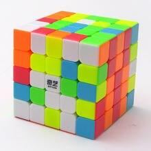 Qiyi qizheng s 5x5 куб пазл игрушки для начинающих без наклеек