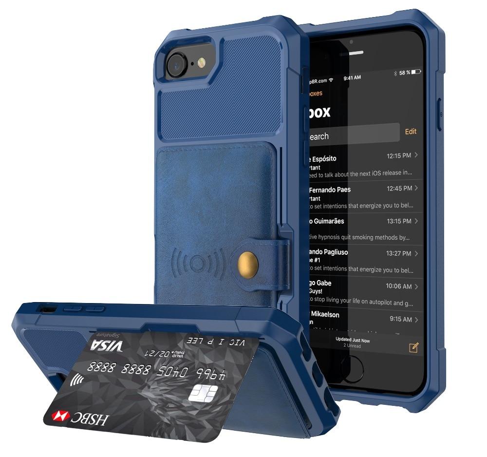 HTB1n.WNbwHqK1RjSZFPq6AwapXaf Luxury PU Leather Wallet Case for iPhone 6 6s 7 8 Plus X XS XR XX MAX Cases Wallet Flip Cover Buckle for iPhone Phone XR Fundas