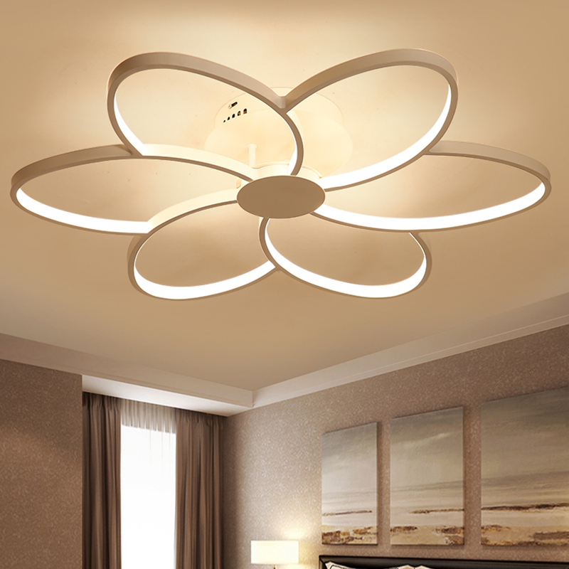 New Modern Art Acrylic LED Ceiling Lights Living Room Bedroom Ceiling Lights Restaurant Table Lamp Decorative Ceiling Lamps