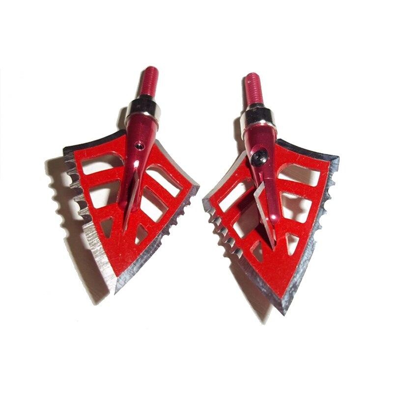 10 piezas Nuevo Tiro con arco Caza Broadheads Caza Punta de flecha - Caza - foto 4