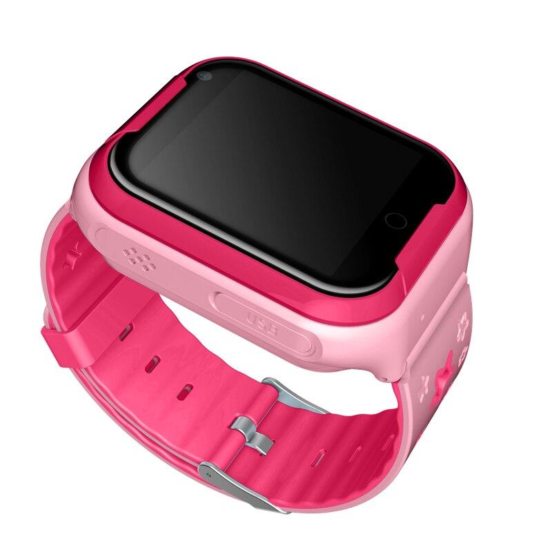 Q402 4G enfants GPS montre intelligente localisation dispositif Tracker SOS appel enfant sain intelligent Fitness sûr bébé montre intelligente écran tactile - 5