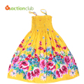 summer style flower girls dress Bohemian Dress for girls princess dress cotton dresses for girls vestidos infantis KD382