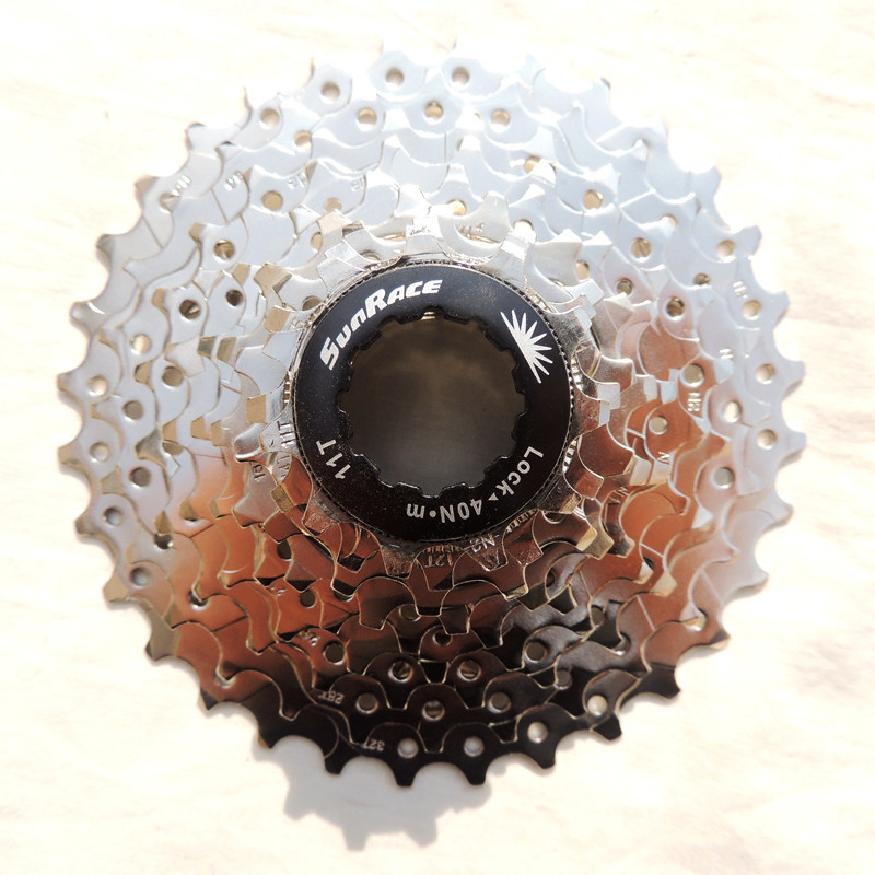 Sunrace 9 Speed bicycle freewheel 11-32T mtb bike cassette 9s 32t mountain for shimano systerm image