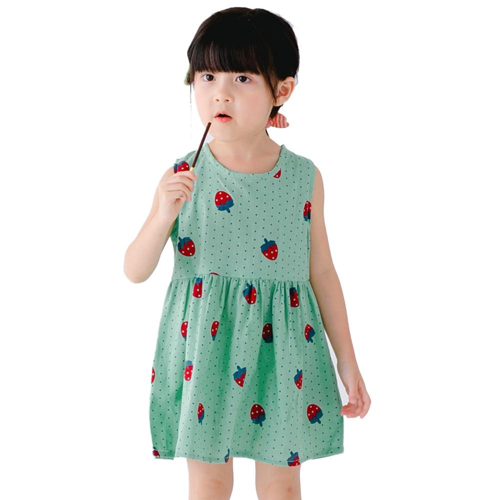 2018 νέα 5 στυλ κορίτσια καλοκαιρινά φορέματα πουκάμισα μωρό ρούχα ... d077c59f0fb