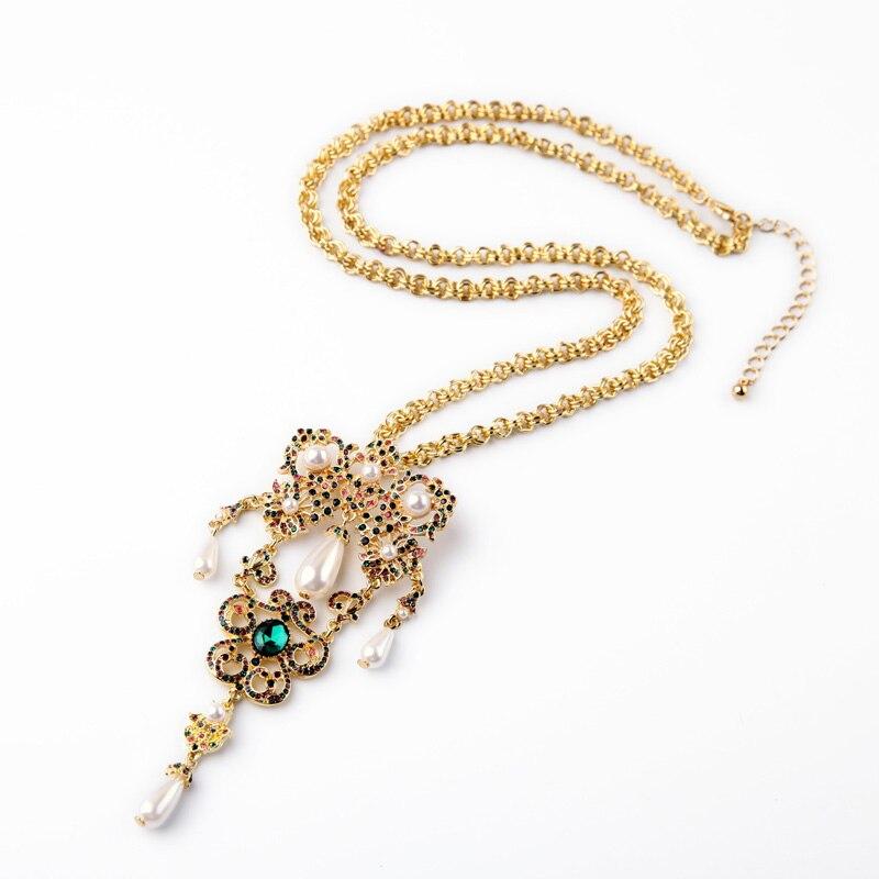 kpop Long Sweater Chain Female Necklace Super Deals Sale Banquet Clothing Accessories