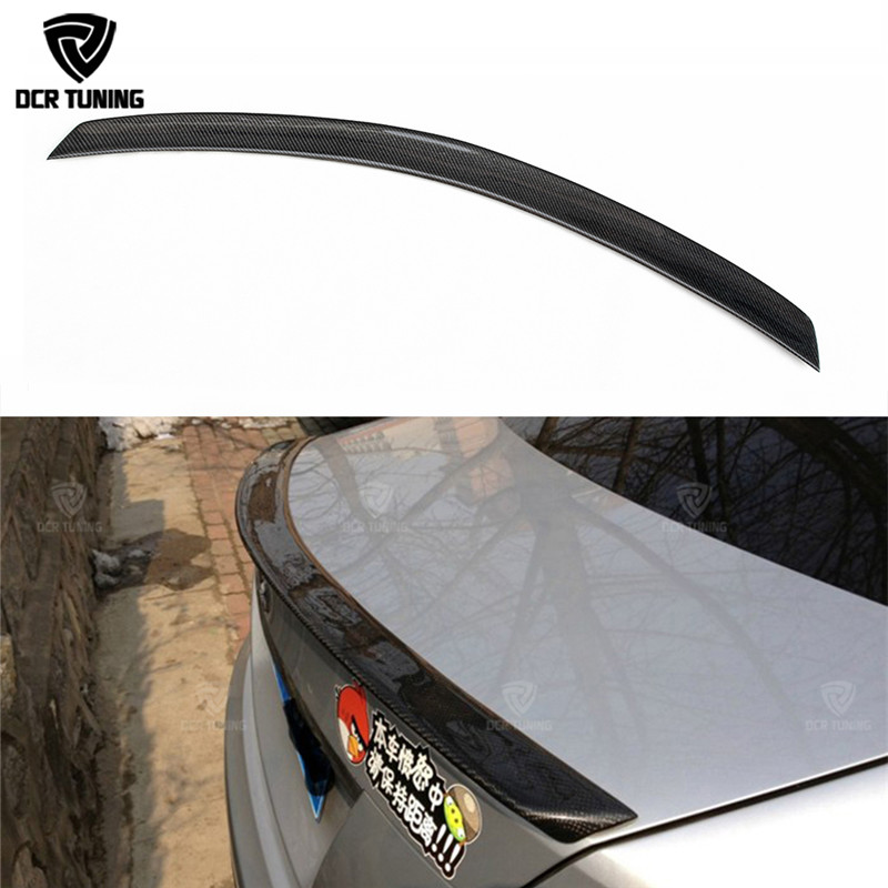 AMG Style For Mercedes W204 Amg Carbon Fiber Spoiler 2008 2010 2011 2012 2013 2014 C Class W204 Carbon Spoiler 4 - Door Sedan amg style w205 carbon fiber rear trunk spoiler for mercedes benz w205 c180 c200 c220 c250 c300 c350 c400 c63 amg 2015 2017