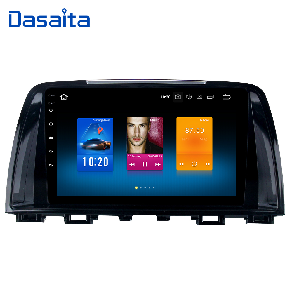 Dasaita 9 Android 9 0 Car GPS Player for Mazda 6 Atenza 2013 2014 with 4G