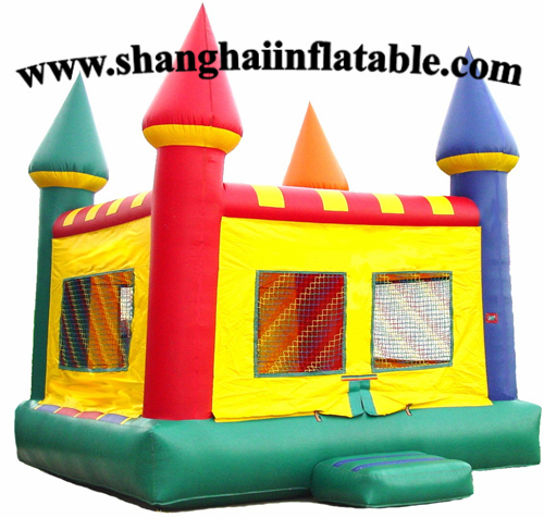 Softbounce And Hardbounce Mini Trampolines: Inflatable Castle Bounce House Commercial Indoor Soft Play
