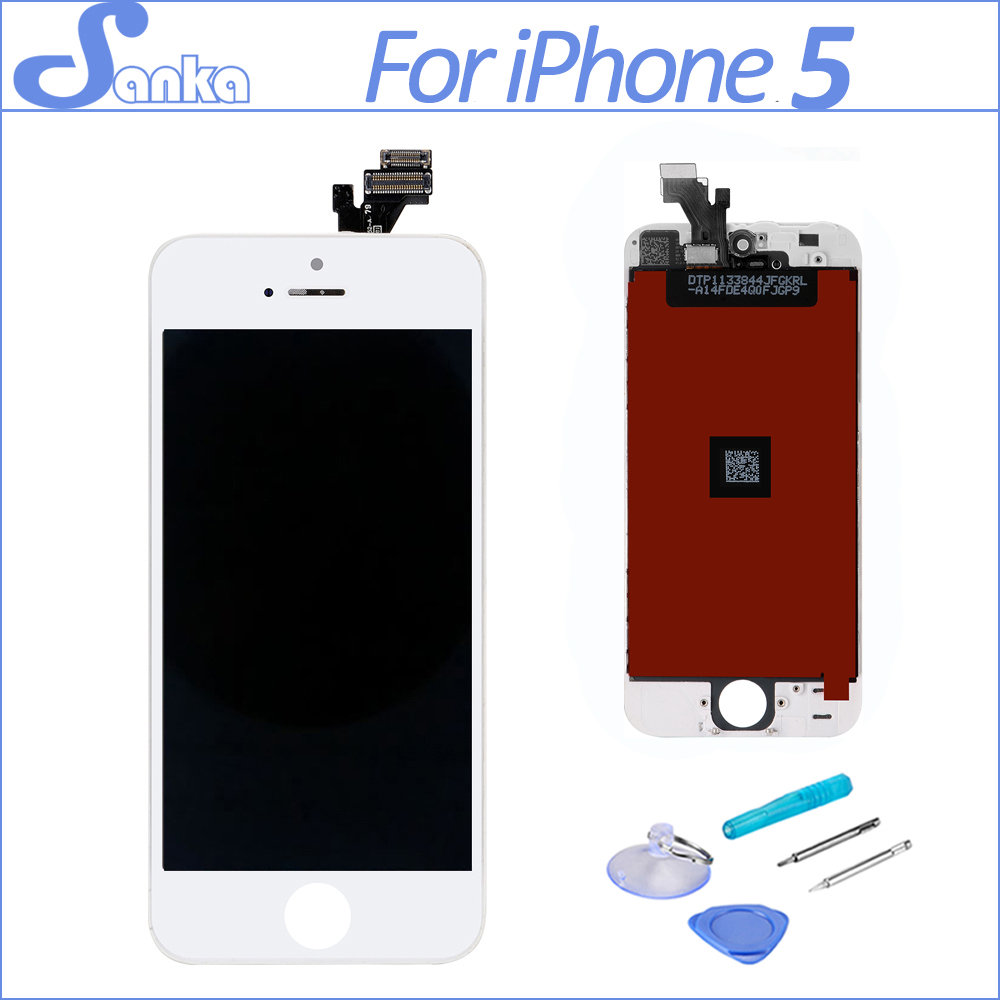 sanka for lcd iphone 5 screen lcd touch screen with. Black Bedroom Furniture Sets. Home Design Ideas