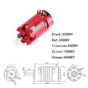 Image 2 - Rocket MINI 1410 2500KV 3500KV 5500KV 7500KV 9500KV Brushless Motor for Kyosho Mr03 Pro Atomic DRZ 1/24 1/28 1/32 RC Car