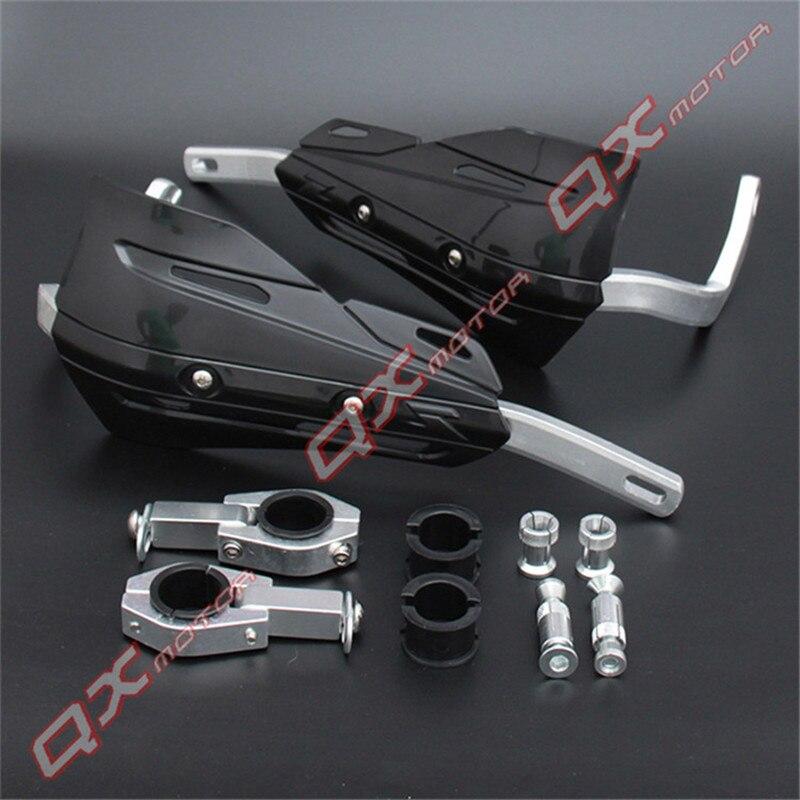 1 paire de protège-mains moto Dirtbike en alliage d'aluminium garde-mains accessoires modifiés moto Motocross ATV guidon garde-mains