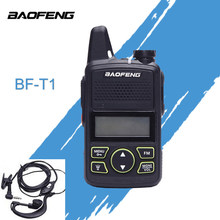 Baofeng BF-T1 BF T1 Portable Mini Walkie Talkie Two Way Ham UHF Radio Station Transceiver Boafeng PMR 446 PMR446 Amador Handheld(China)