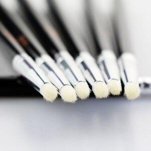 Image 2 - BEILI Smoky Eye Shadow matita per occhi piccola tonalità pelo di capra naturale manico nero pennello per trucco singolo