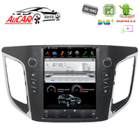 Tesla Style Android Car Radio for hyundai ix25 Creta gps multimedia Bluetooth Radio WIFI 4G Vertical Stereo AUX Touch Screen HD