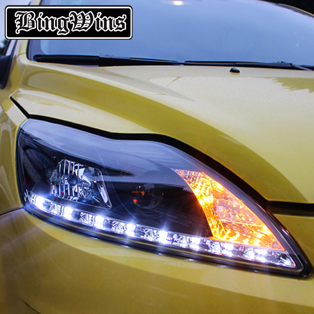 Car Styling for Ford Focus Headlights 2009 2013 Focus 2 LED Headlight DRL  Bi Xenon Lens High Low Beam Parking Fog Lamp-in Car Light Assembly from ...