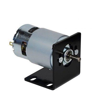 9 61 6 De Reduction 775 Dc Moteur Avec 5mm Support Bricolage Accessoires Pour Mini Tour Table Scie Electrique Scie Banc De Coupe Machine A Bois In