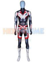 Avengers Endgame Quantum Realm Cosplay Costume Spandex 3D Print Zentai Suit for Halloween Party Hot Sale