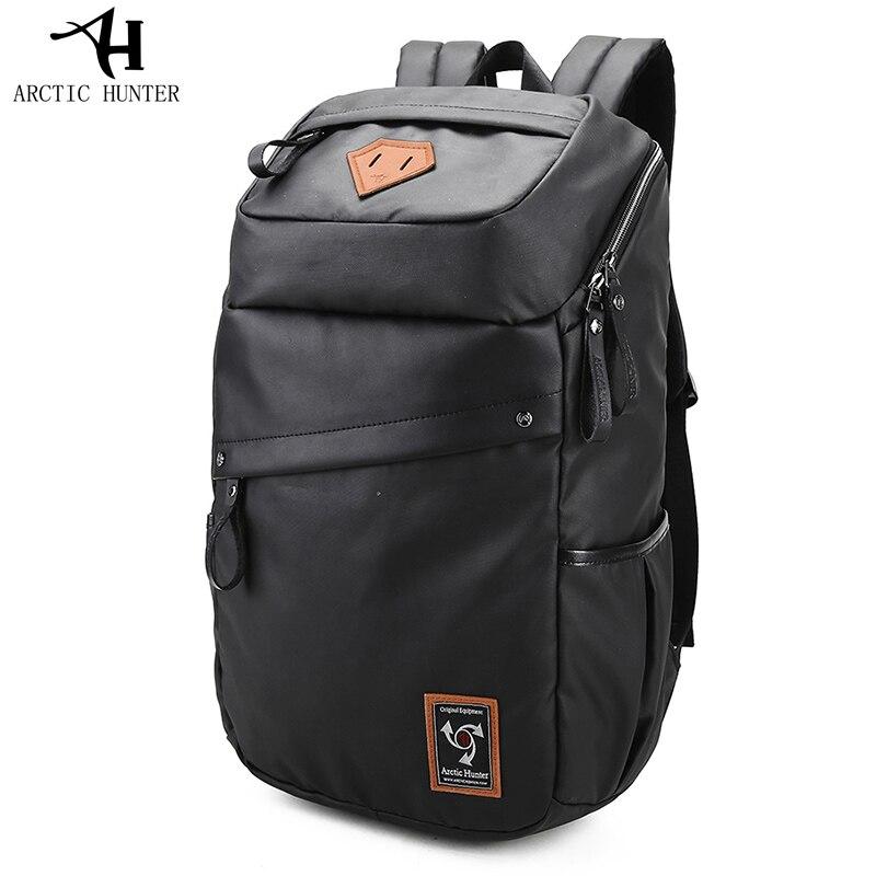 цена Waterproof Students Large Capacity 15.6 Inch Laptop Bag Man Backpack Fashion Black Backpack Male Schoolbag Mochila Masculina онлайн в 2017 году