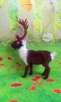 new simulation deer toy polyethylene & furs elk doll gift about 22X7X27CM 265