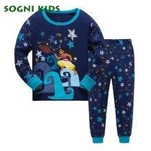 991be5d524895 2-7Y bébé filles garçons vêtements ensemble enfants Pyjamas Pyjamas  vêtements de nuit pour coton
