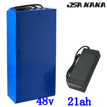 48V 1000W 2000W lithium battery 48V 20AH electric bicycle battery 48v 21ah lithium battery with 50A BMS and 54.6V 2A charger diy 48v 50ah recharge lithium battery pack 48v 2000w giant bike battery with charger bms portable handle for panasonic cell