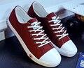 2016 caliente de la alta calidad de hombre zapatos de lona clásicos zapatos casuales estudiantiles zapatos casuales salvajes