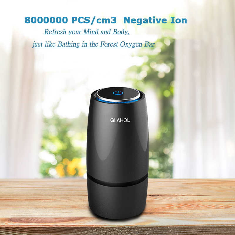9e4599a98 ... GIAHOL Intelliget Anion Car Air Purifier USB Portable Cup Air freshener  with filter Aroma Diffuser for ...