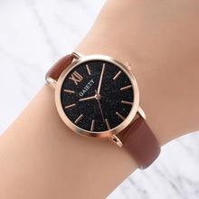 цены new fashion 2019 watches women Elegant Leather Dress Quartz Wrist Watch Gift for Ladies Watch Reloj Mujer relogio feminino