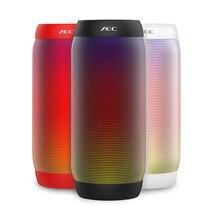 AEC Coloré LED Lumière Portable Bluetooth Sans Fil Haut-Parleur Stéréo Extérieure NFC Mini Vélo 10 W Basse Subwoofer pour Haut-parleurs JBL