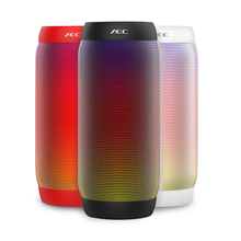AEC Colorful LED Light Portable Bluetooth Wireless Speaker Stereo Outdoor NFC Mini Bicycle 10W Bass font