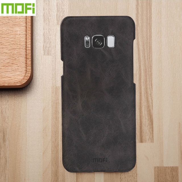 new product b2647 d8861 For Samsung Galaxy S8+ Case Hight Quality Leather Case Back Cover For  Samsung Galaxy S8+ S8 Plus Fashion Hard Cover 6.2 inch-in Half-wrapped Case  from ...