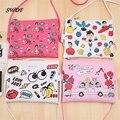 Trajes de Dibujos Animados de Impresión Mujeres Bolsa de Hombro de Las Señoras Mujer Mini bolsos de Hombro Crossbody Messenger Bag Girls Bolsa Feminina