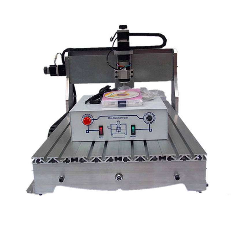 Russian duty-free CNC 6040 Z-D 300W spindle engraving machine wood engraver lathe pcb milling tool with ball screw