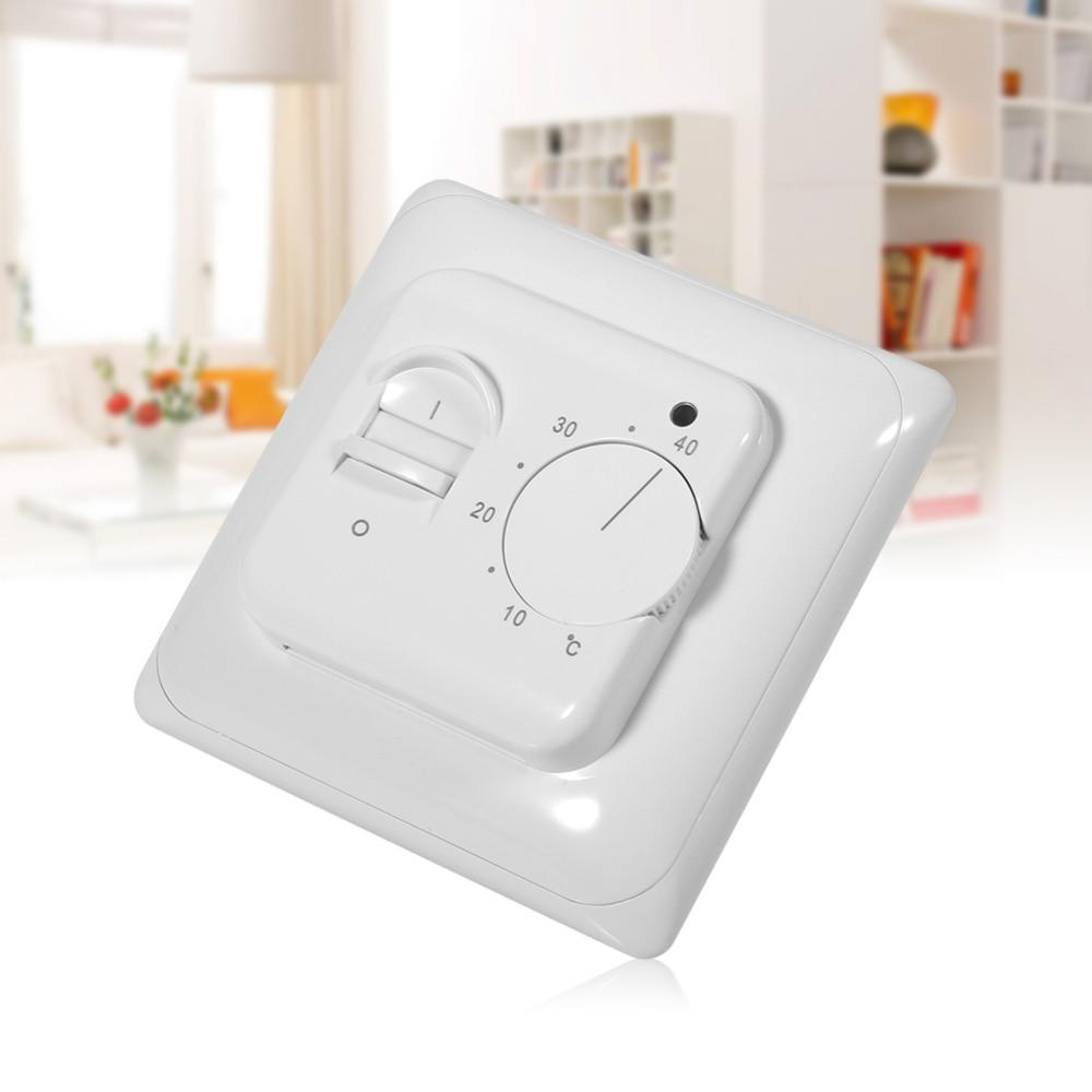 Underfloor Heating Temperature Settings: 230V 5~40C Electronic Underfloor Heating Temperature LED