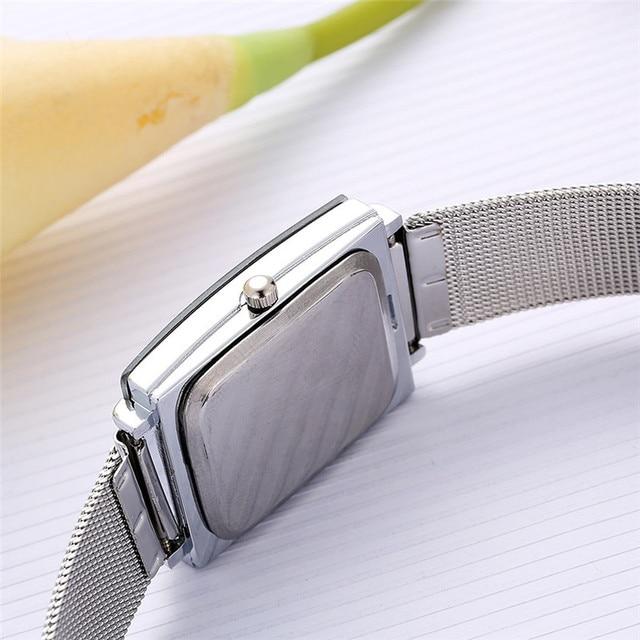 Lvpai Brand Women Bracelet Watch Silver Square Luxury Ladies Crystal Alloy Quartz Dress WristWatch Watches Relogio Feminino Gift