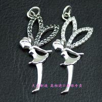 925 pure silver angel pendant