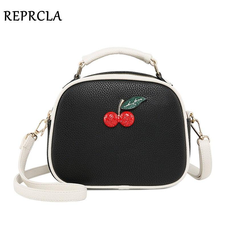 REPRCLA New Shoulder Bag Double Layer Luxury Handbag Women Messenger Bags Brand Designer Crossbody Bags Female Top-handle Bag shoulder bag