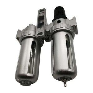 Image 4 - SFC 400 SFC 300 SFC 200 ضاغط الهواء فلتر الهواء منظم فاصل مياه زيتية فخ تصفية منظم صمام استنزاف التلقائي