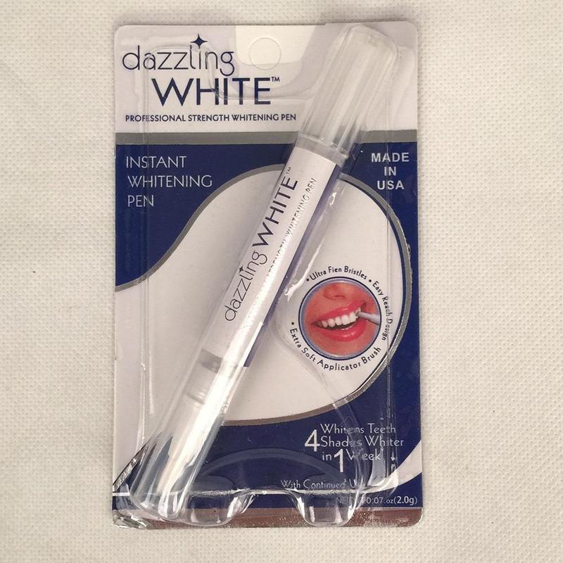 1 шт. белый Zahnaufhellung ослепительный стифте entfernen флекен белый мгновенный отбеливатель зубов ярко Белый Отбеливание зубов - Цвет: As shown