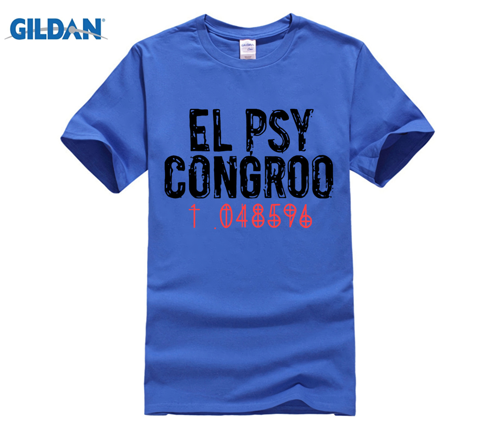 T-shirts New Steins Gate El Psy Congroo Anime Mens Black T-shirt Size S-3xl With The Best Service