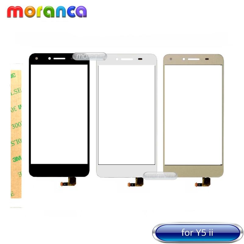 Touch Panel for Huawei Y5 II 2 Y5II CUN-L01 LYO-L21 CUN-U29 Touch Screen Digitizer Front Glass Sensor Lens Touchscreen + 3M TapeTouch Panel for Huawei Y5 II 2 Y5II CUN-L01 LYO-L21 CUN-U29 Touch Screen Digitizer Front Glass Sensor Lens Touchscreen + 3M Tape