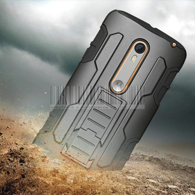 promo code 5b2e0 6a0d3 US $3.9 15% OFF Rugged Protective Armor Impact Hard Case Cover+Holster With  Belt Clip For Motorola Moto X Play XT1562 XT1563/droid maxx 2-in Holsters  ...