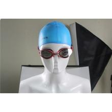 Силикагель большая рамка красочное покрытие анти-туман плавательные очки анти-УФ стекло Мужские Женские устойчивые к царапинам линзы Регулируемые очки