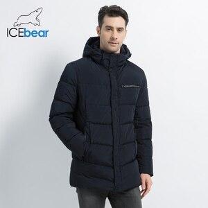 Image 3 - 2019 nouveaux hommes manteau dhiver de haute qualité homme veste mode vêtements pour hommes chaud mâle Parka MWD19835D