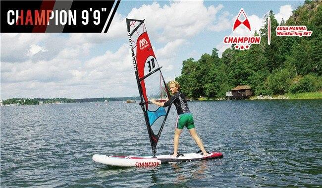 US $1559 0 |Champion Windsurf SUP / Windsurf paddle board / inflatable sail  board / Surf board (3m/9'9