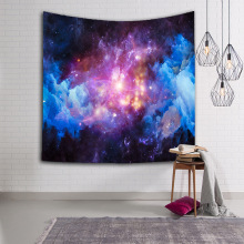 New Amazing Graceful Night Starry Sky Beautiful Sight Printed Wall Hanging Tapestry Living Room Decor Yoga Beach Towel Customize